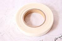 Флористическая тейп-лента белого цвета ширина 12 мм