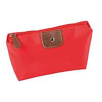 Косметичка на молнии с одним карманом Accessory / su 908105 Красный