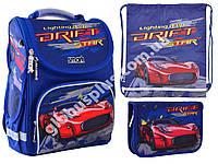 "Набор рюкзак ортопедический каркасный + сумка для обуви + пенал «Smart» PG-11 ""Drift"" 555985-1, фото 1"
