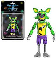 Новинка! Эксклюзив игрушки 5 ночей с Фредди, Фокси / Funko Five Nights at Freddy's,Foxy Black Light, фото 1