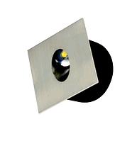 Лестничный светодиодный светильник ZUMRUT хром 3W