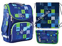 """Набор рюкзак ортопедический каркасный + сумка для обуви + пенал «Smart» PG-11 """"Smart Style"""" 556004-1"""