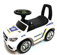Машинка толокар музыкальная. Толокар полиция детский.Толокар свет звук.