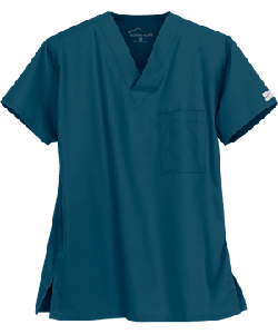 Медицинская блуза унисекс /Butter-Soft Scrubs by UA™ Unisex One Pocket Top