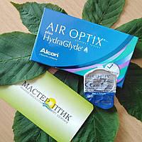 Контактні лінзи Air Optix plus HydraGlyde 3+1 (4 по ціні 3 )