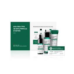 Набор по уходу за проблемной кожей Some By Mi AHA-BHA-PHA 30 Days Miracle Starter Kit, 4 ед