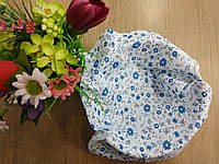 Ситец в синий цветочек. Размер 20*25 см