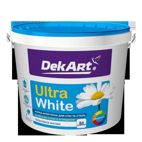 Краска интерьерная для стен и потолков DekArt 12,6 л