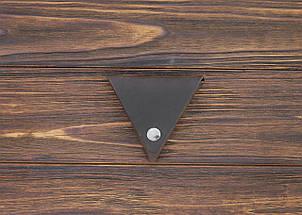 Монетница кожаная ручной работы VOILE темно-коричневая (967048970), фото 3