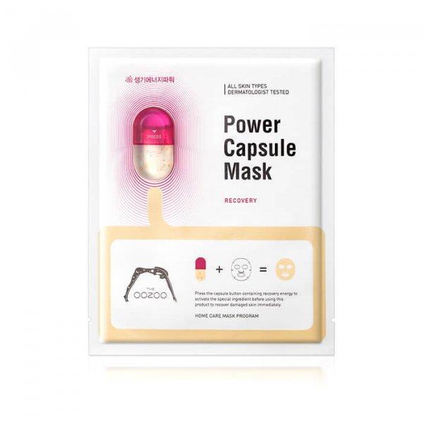 Тканевая маска с капсулой-активатором для восстановления кожи THE OOZOO Power Capsule Mask Recovery, 1шт