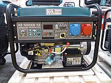 Генератор бензиновый Konner&Sohnen KS 10000E 1/3 (8кВт), фото 3