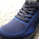 Кроссовки Bonote текстиль сетка тёмно-синие р.41, фото 3