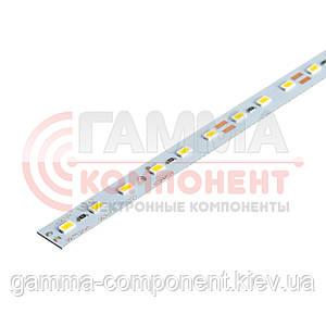Светодиодная линейка SMD5630 18Вт, 100cм, 12V, теплый белый, крепление скотч, IP20