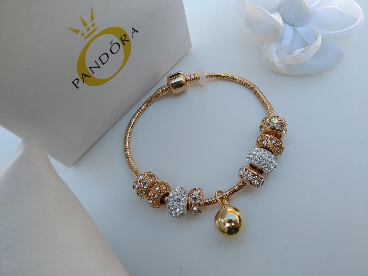 Женский браслет в стиле Пандора PANDORA