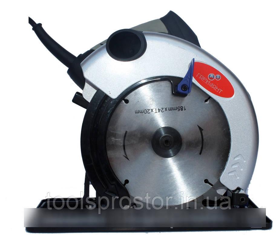 Циркулярка Горизонт CS 215 : 1850 Вт - 185 мм   Гарантия 1 год