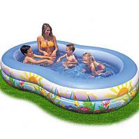 Детский надувной бассейн  Intex 56490  262х160х46см