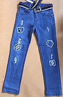 Джинсовые брюки для мальчиков Тaurus 140-158 р.р., фото 1