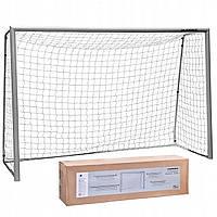 Ворота футбольні розбірні з сіткою 300 * 200 * 120 см, фото 1