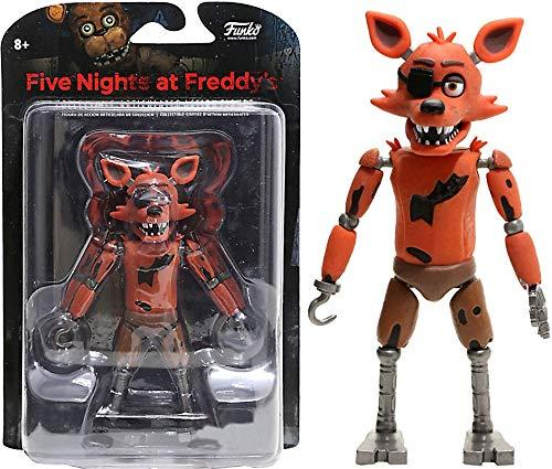 Игрушки 5 ночей с Фредди Five Nights At Freddys Articulated Figure - Glow in the Dark Foxy EXCLUSIVE
