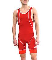 Трико борцовское Asics Wrestling Single (157517-0023) Red