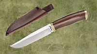 Нож нескладной 2670 ACWP с кожанным чехлом,охотничьи ножи,товары для рыбалки и охоты,оригинал