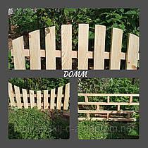 Заборчик, садовый, деревянный, штакетник, ограда, изгородь