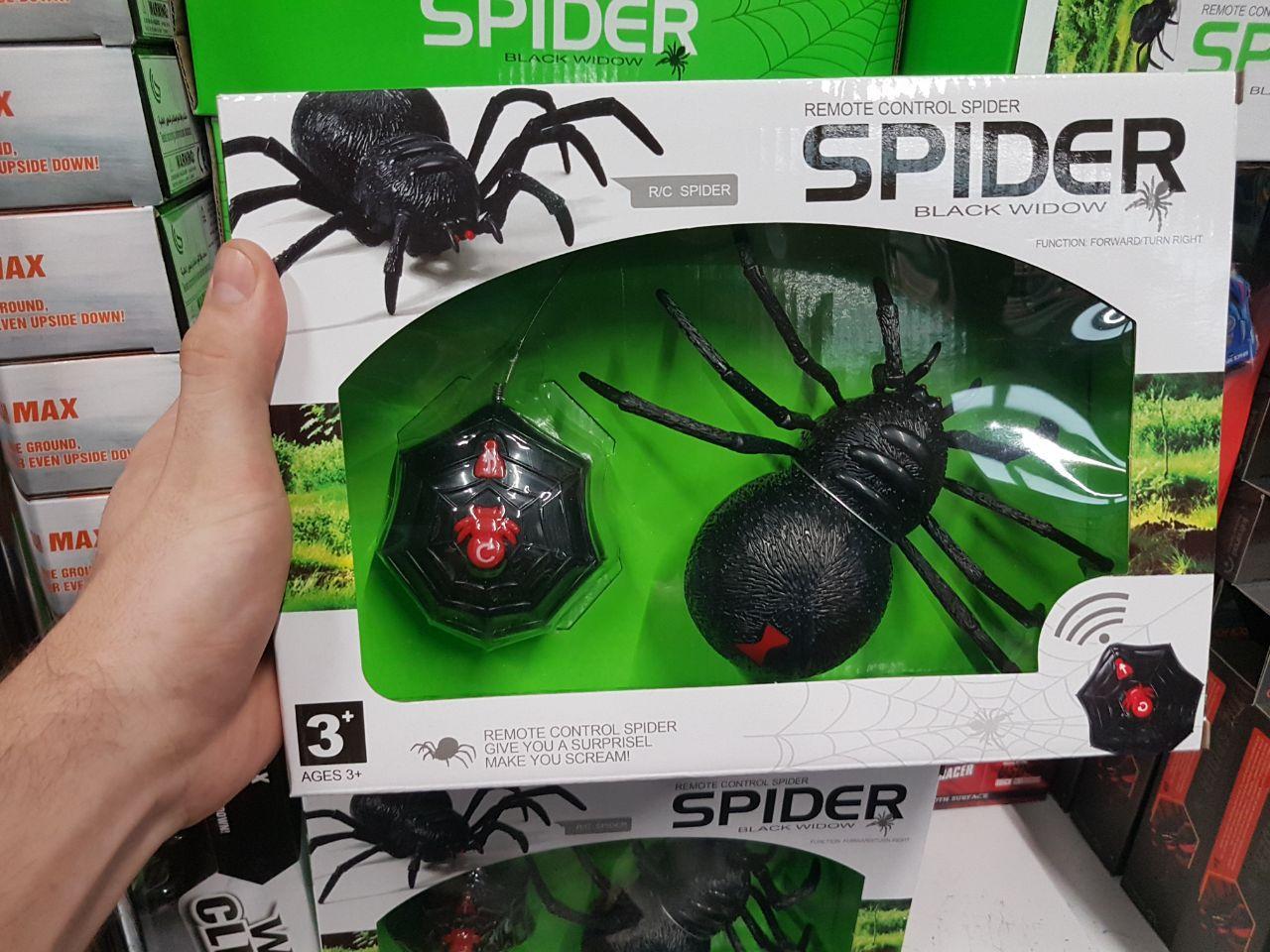 """Паук на радиоуправлении """"Черная вдова"""" Spider z2112"""