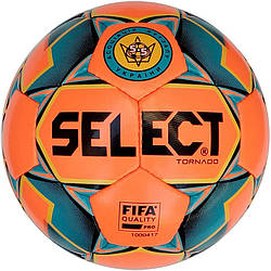 Мяч для футзала Select TORNADO №4 (orange-blue)