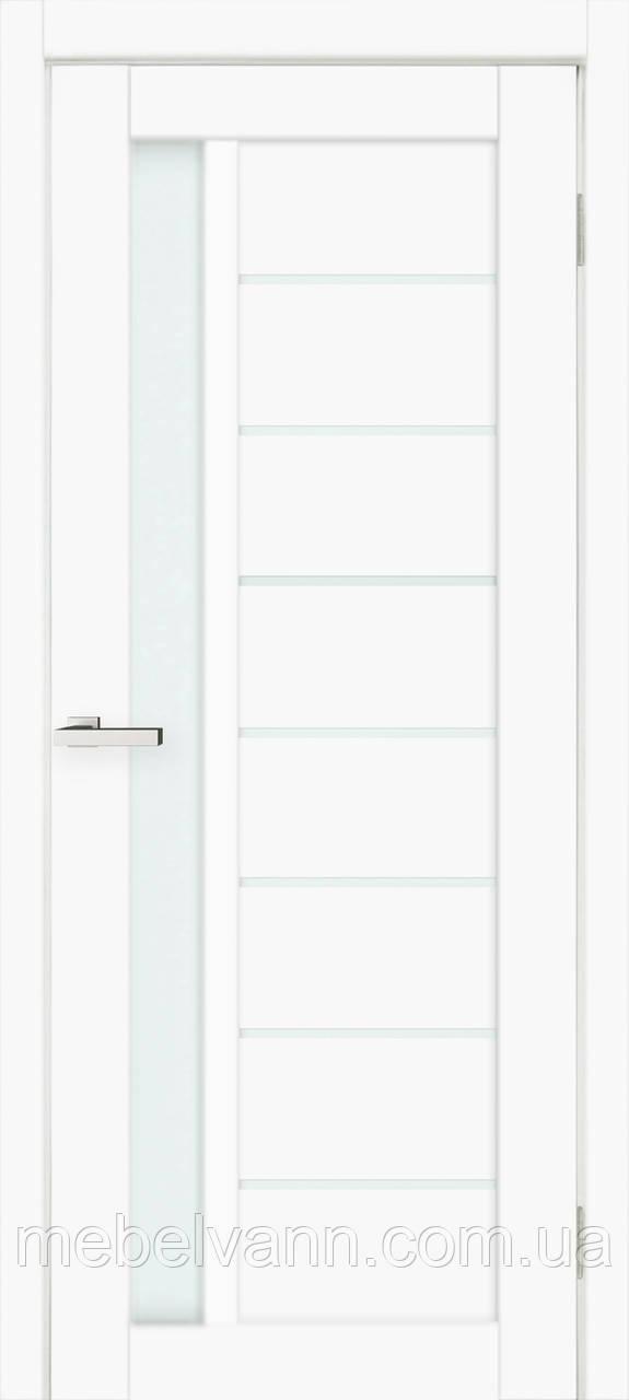 Двери межкомнатные Cortex Deco 09 белый матовый