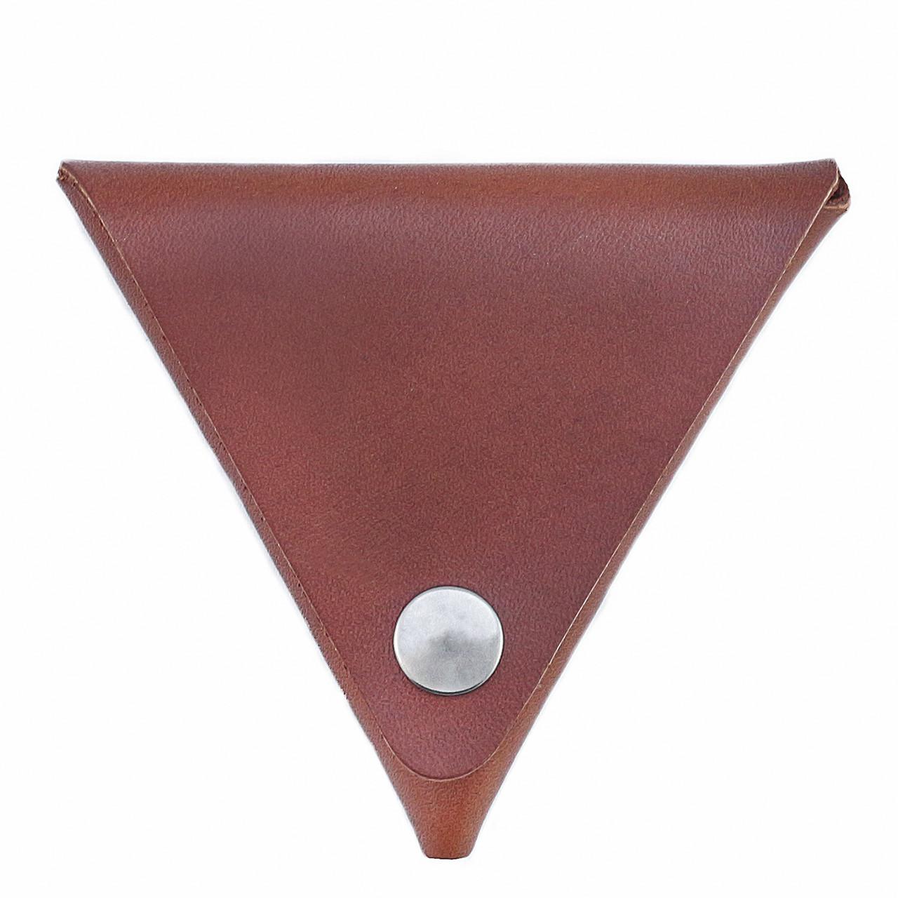 Монетница ручной работы из кожи Краст VOILE коньячный (967066634)