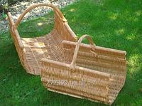 Корзины для дров (набор из 2 шт). Дровницы для камина