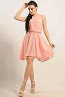 """Нежное и романтическое платье """"Тиара"""" в розовом цвете"""