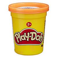 Пластилин Play Doh в баночке оранжевый 112г, B6756