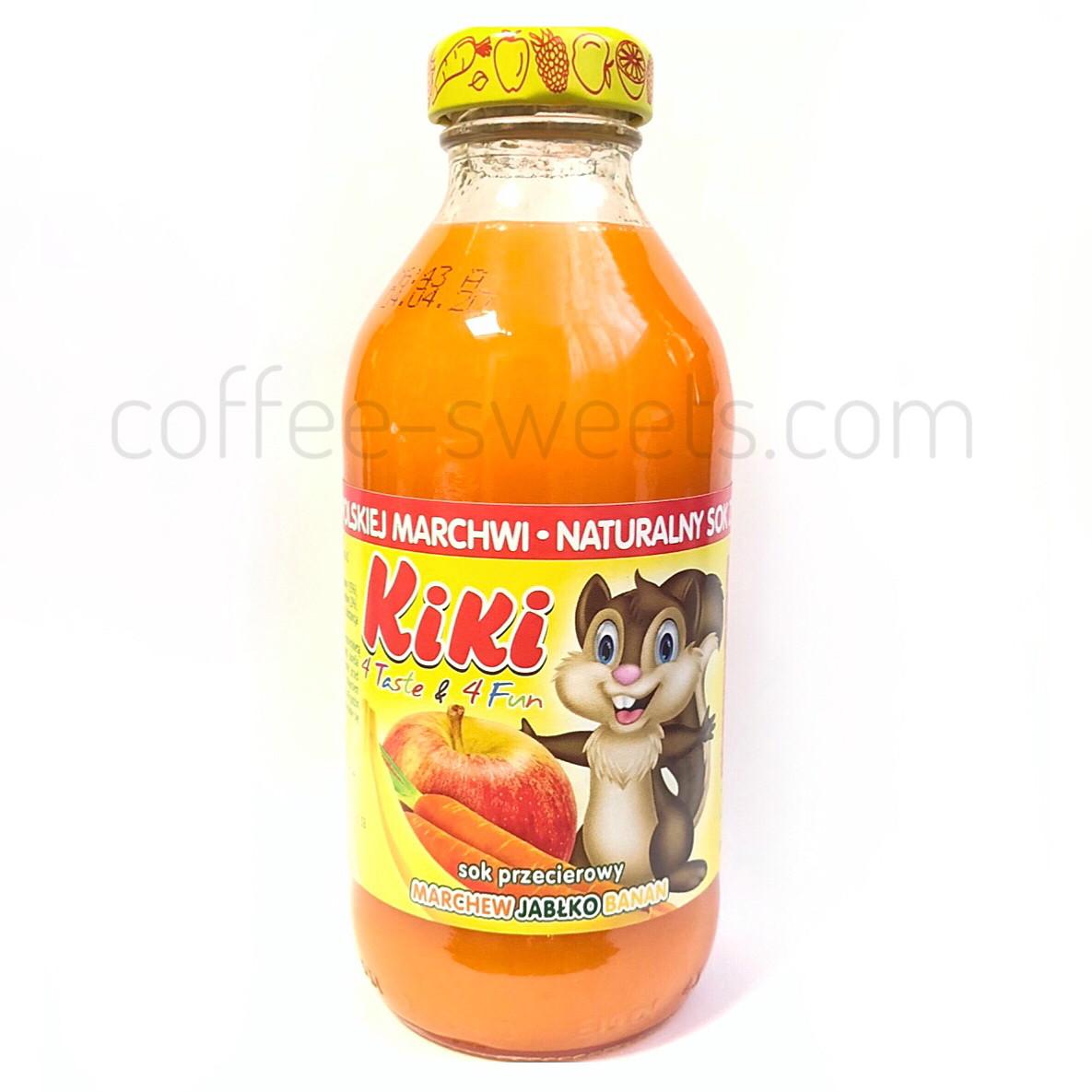 Сок Kiki (яблоко-банан-морковка) 330 ml