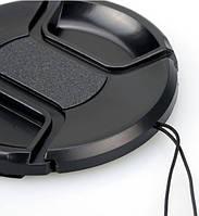 Универсальная крышка для объектива 58mm (со шнурком)