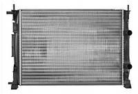Радиатор системы охлаждения на Рено Меган II 1.5dci, 1.6i 16V, 1.4i 16V, 1.9dc / NRF 58327