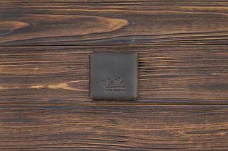 Монетница из кожи ручной работы VOILE темно-коричневая (967084763), фото 2