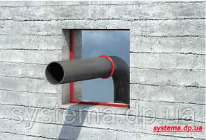 Набухающее кольцо для герметизации вводов труб и коммуникаций в стенах и плитах перекрытий 94х76 мм, фото 3