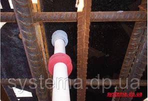 Набухающее кольцо для герметизации вводов труб и коммуникаций в стенах и плитах перекрытий 69х50 мм, фото 2