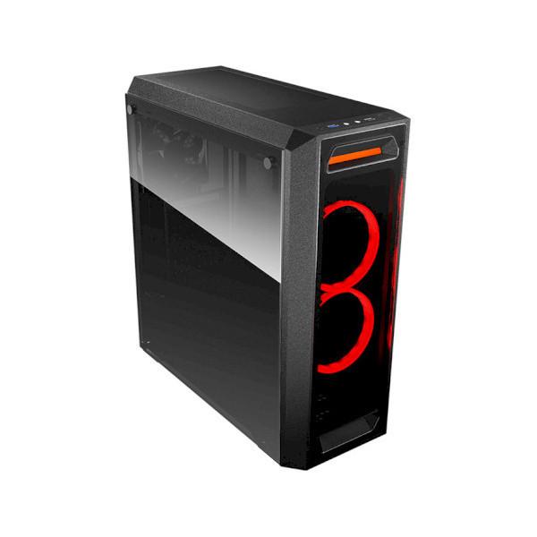 """Игровой корпус Cougar MX350 2*3.5""""+2*2.5"""", 2*120 Vortex Fans, ATX/mATX/mini-ITX, , стеклянное окно"""