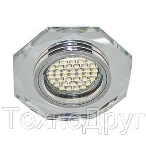 Встраиваемый светильник 8020-2 с LED подсветкой 28488 (4534)