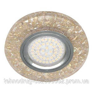 Встраиваемый светильник 8585-2 с LED подсветкой 28577 (4727)