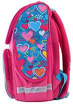 """Набор рюкзак ортопедический каркасный + сумка для обуви + пенал «Smart» PG-11 """"Charms"""" 555928-1, фото 3"""