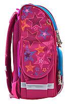 """Набор рюкзак ортопедический каркасный + сумка для обуви + пенал «Smart» PG-11 """"Star's dream"""" 555918-1, фото 3"""