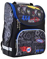 """Набор рюкзак ортопедический каркасный + сумка для обуви + пенал «Smart» PG-11 """"Speed 4*4"""" 555999-1, фото 2"""