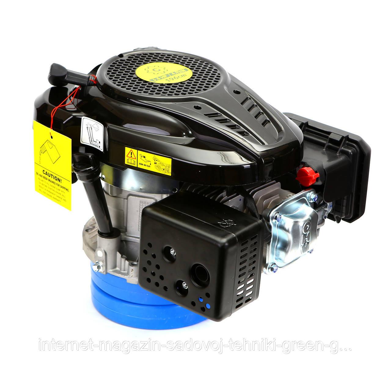 Двигатель бензиновый GrunWelt GW-1P70FA (6,5 л. с., вертикальный вал)