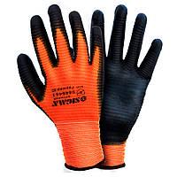 Перчатки трикотажные с ПУ покрытием манжет Sigma 9446461