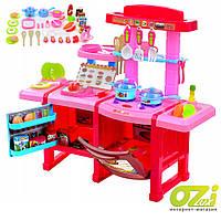 Детская кухня с холодильником и духовкой Cook Set (Розовая)