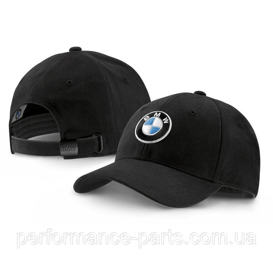 Бейсболка BMW Logo Cap, Deep Black, артикул 80162411103