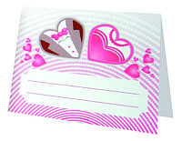 Банкетница свадебная, рассадочная карточка №105